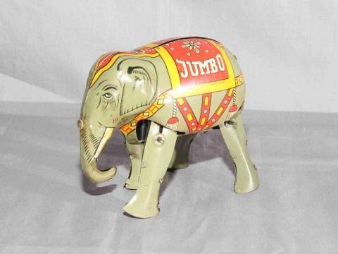 Moko Clockwork Jumbo Elephant.   Excellent clockwork motor works.