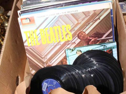 LP, 78 and single records including Beatles, Black Sabbath, etc.