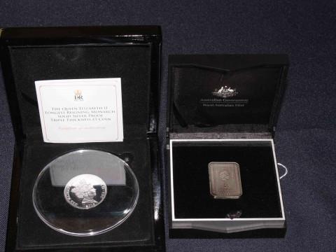 2015 The Queen Elizabeth II Longest-Reigning Monarch sold silver proof...